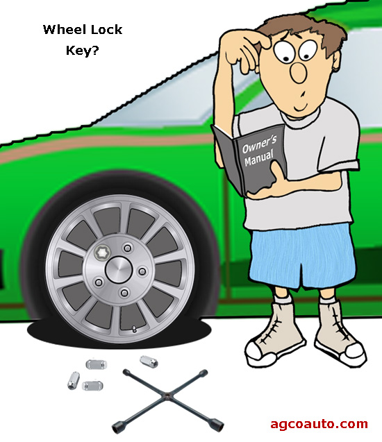 Wheel locks are more likely to cause rather than prevent a problem