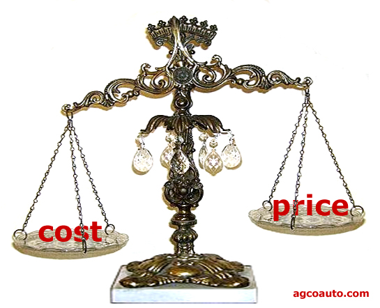 cost must be considered over time
