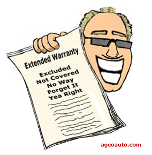 Extended warranty, just say no