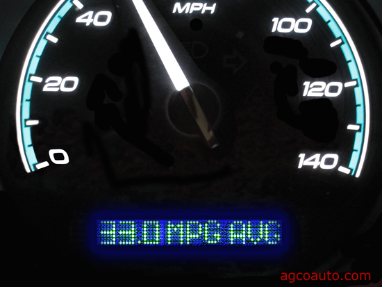 Fuel mileage indicators are not always correct