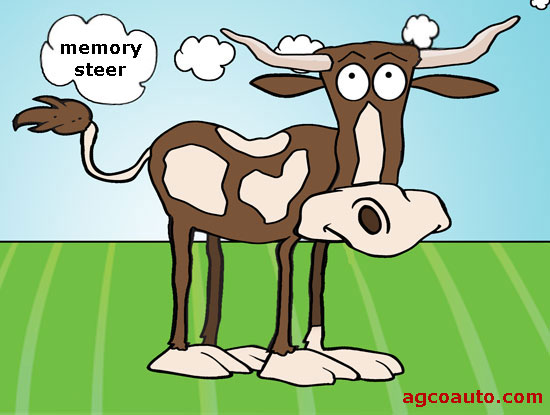 Memory steer is a pull in the direction of the last hard turn