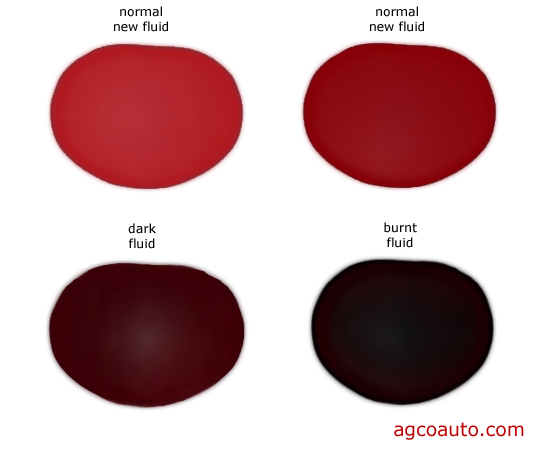 Transmission fluid color is NOT a reliable indicator of condition