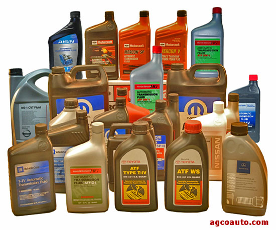 Transmission fluid is very specialized and must be correct