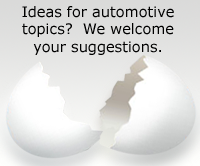 We welcome your suggestions for automotive content