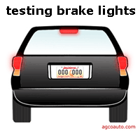 How to test brake light problems